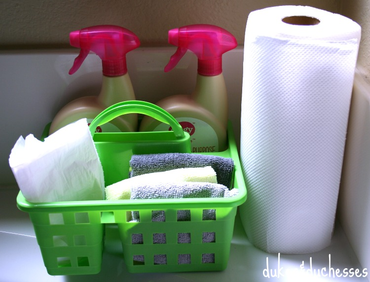 cleaning caddy for kids