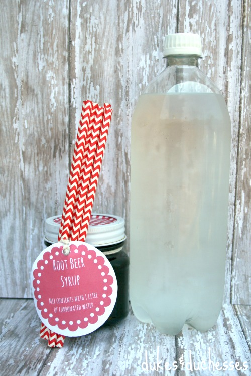 homemade root beer syrup gift