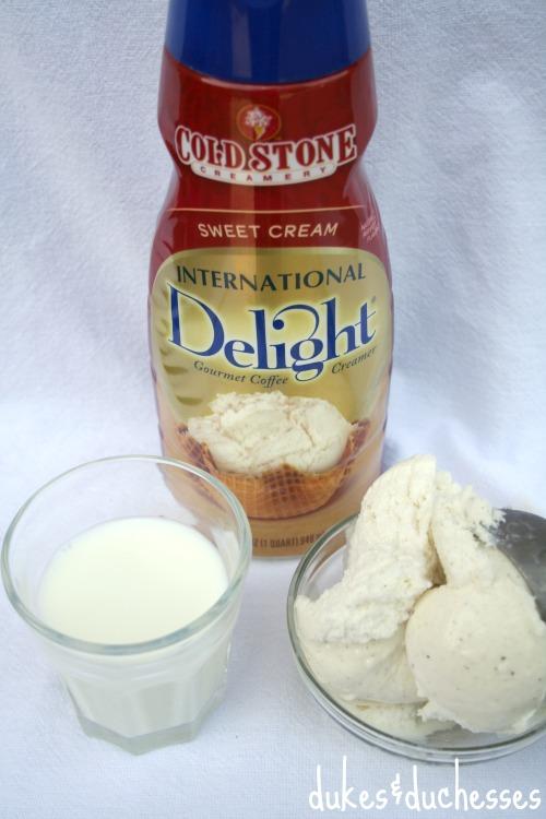 ingredients for shake