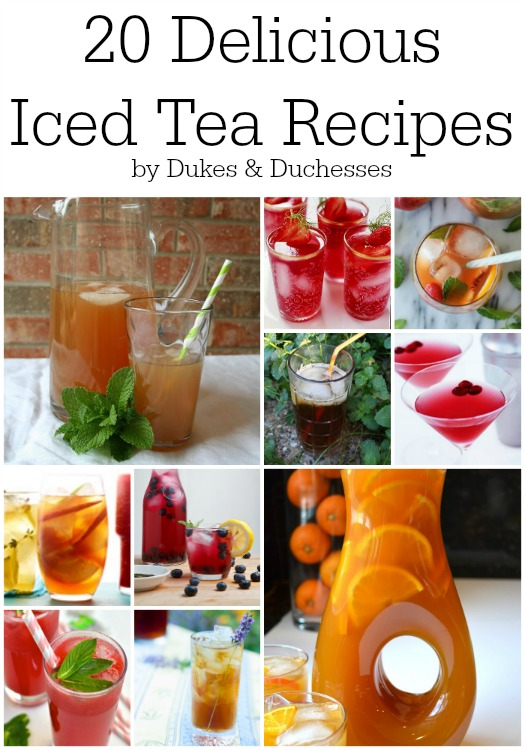 20 delicious iced tea recipes