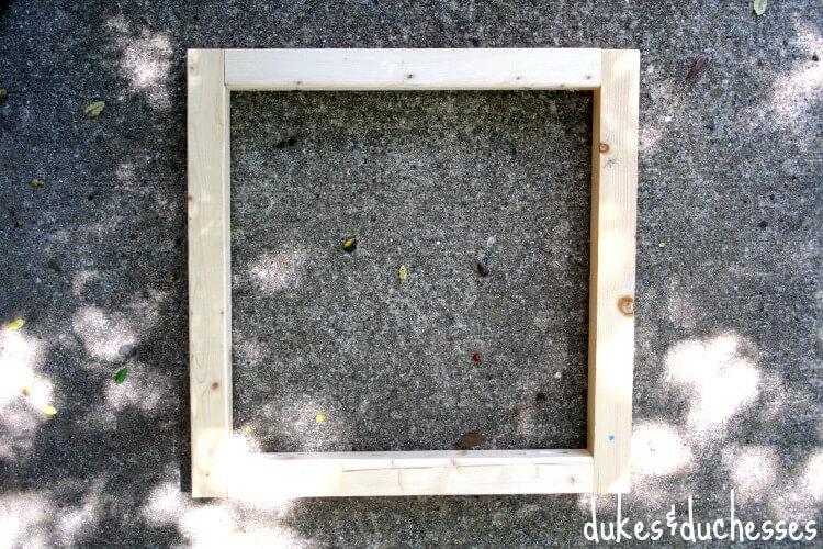box frame D