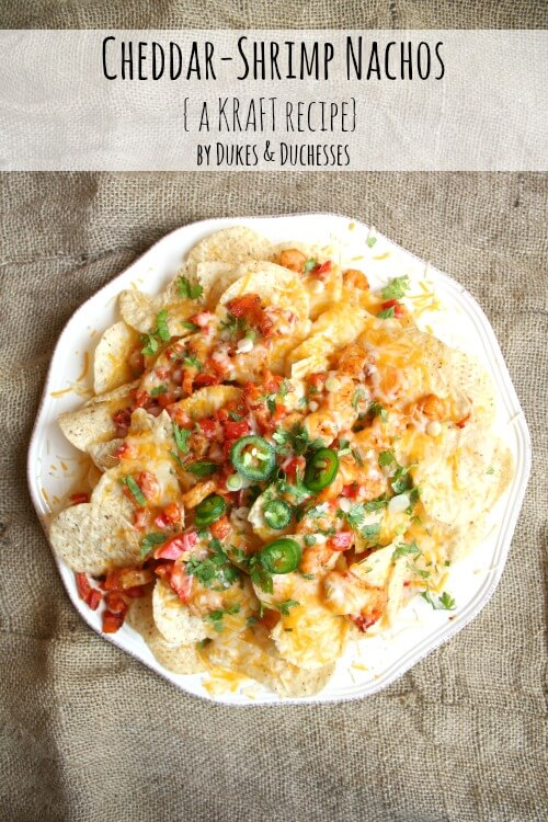 ... Shrimp Nachos! This recipe is so simple and quick and it's
