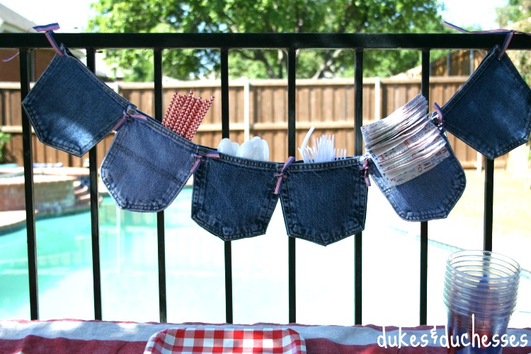 jean pocket garland