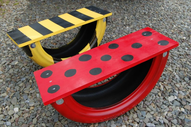 tire see saw