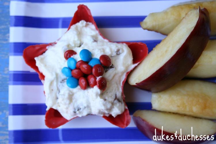 twix fruit dip