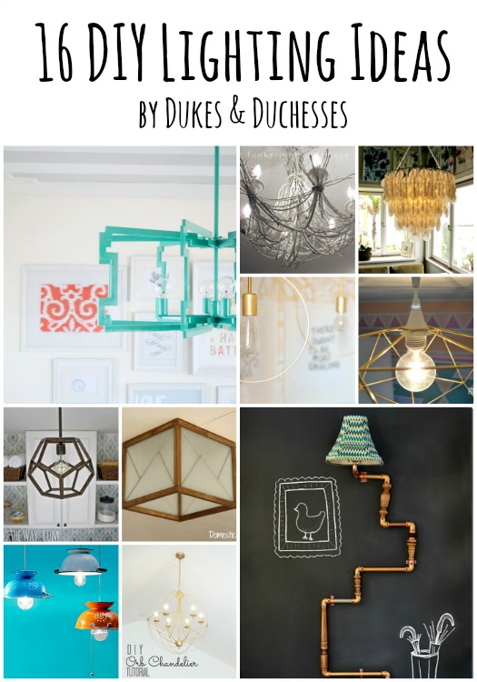 16 DIY lighting ideas