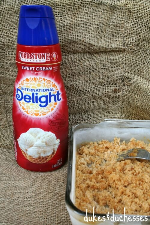 International Delight creamer and granita