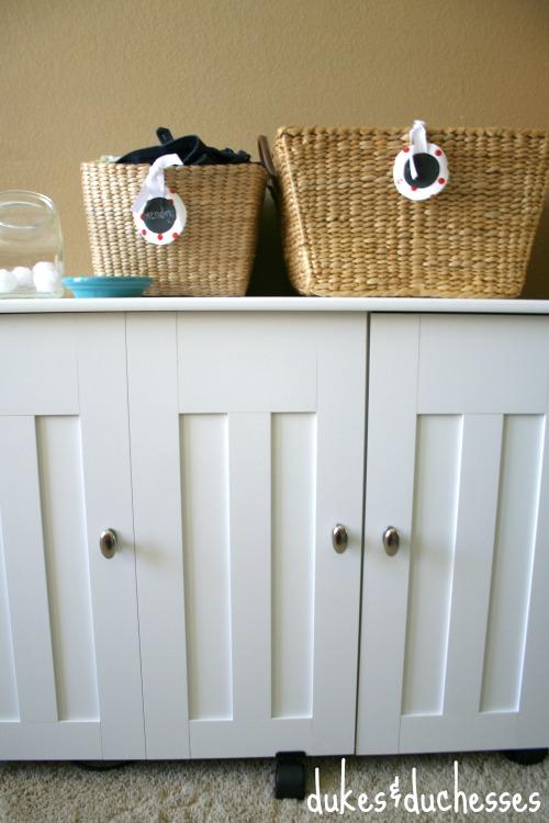 Sauder craft cabinet