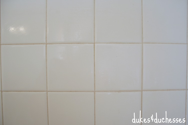 clean grout lines