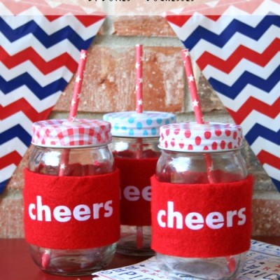 felt cozies for mason jars