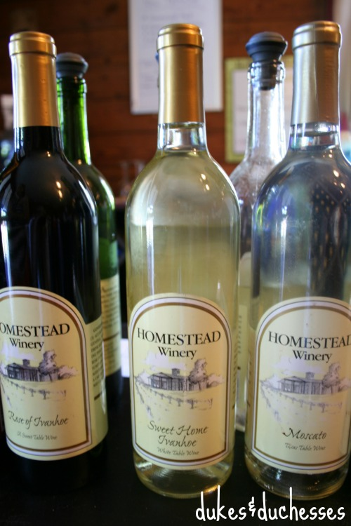 homestead winery