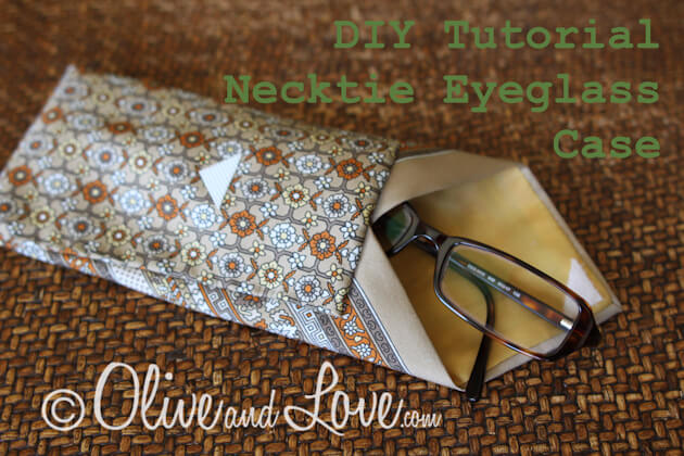 necktie eyeglass case