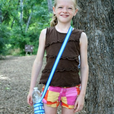 Summer Trails {and DIY Water Bottle Holders}