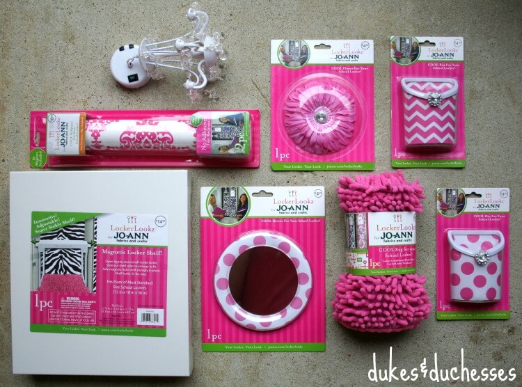 lockerlookz supplies at jo ann - Locker Designs Ideas