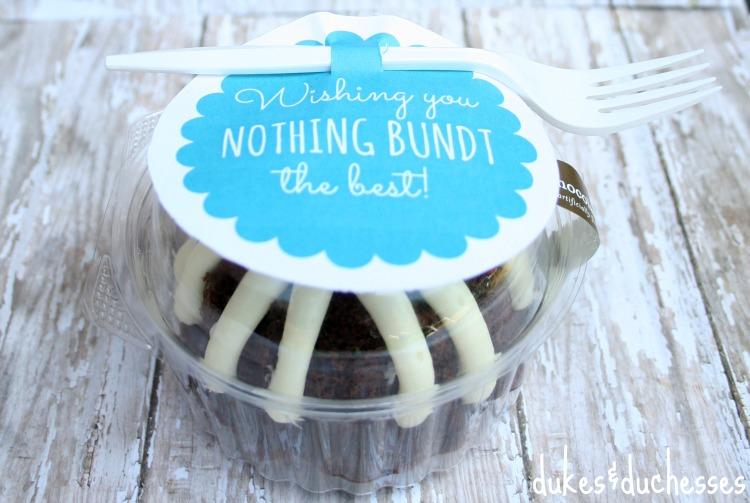 bundt cake gift
