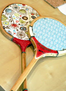 cork board racquets