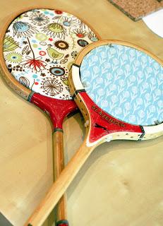 cork board racquets