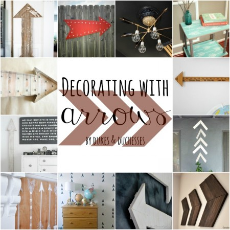 decorating with arrows