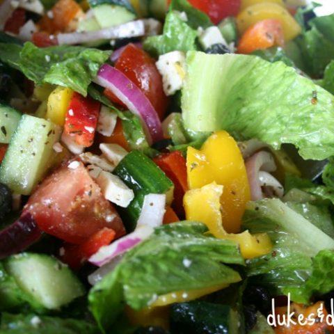 the best greek salad