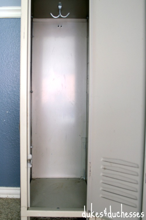 locker before