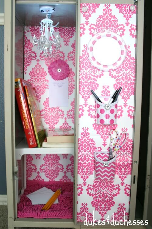 Locker Decorating Ideas - Dukes and Duchesses