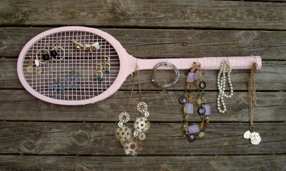 racquet jewelry holder