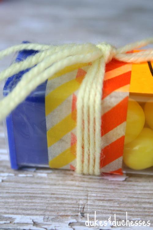 ribbon washi tape trim D