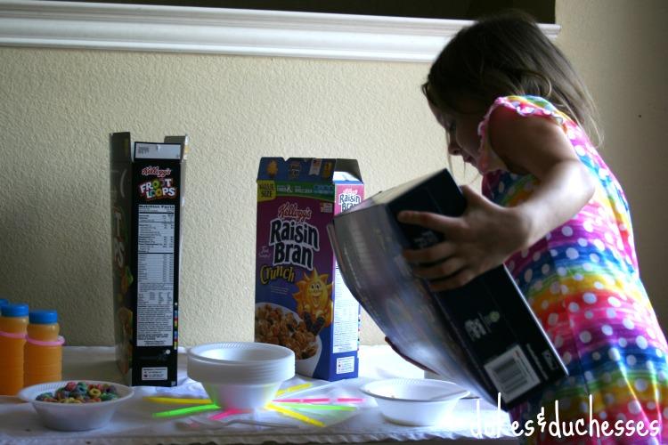 self serve cereal bar