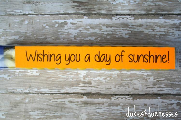 sunshine printable D