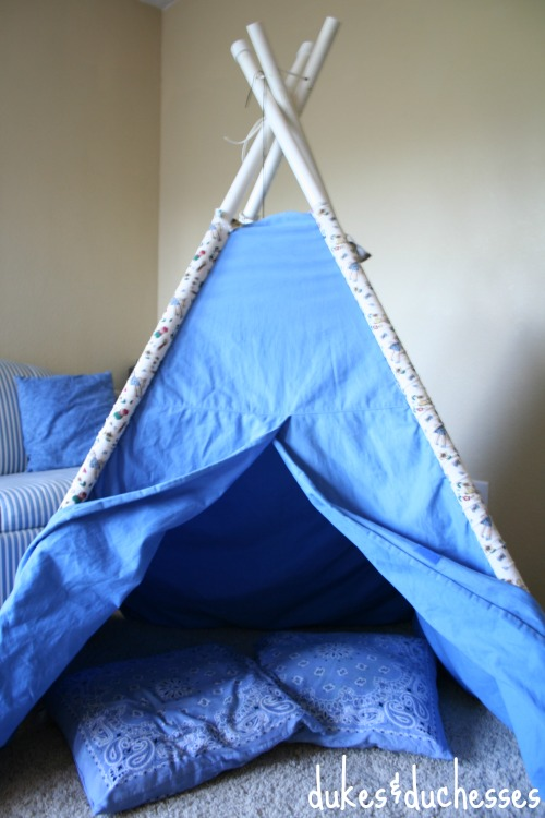 teepee for family camp out