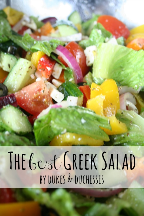 the best greek salad
