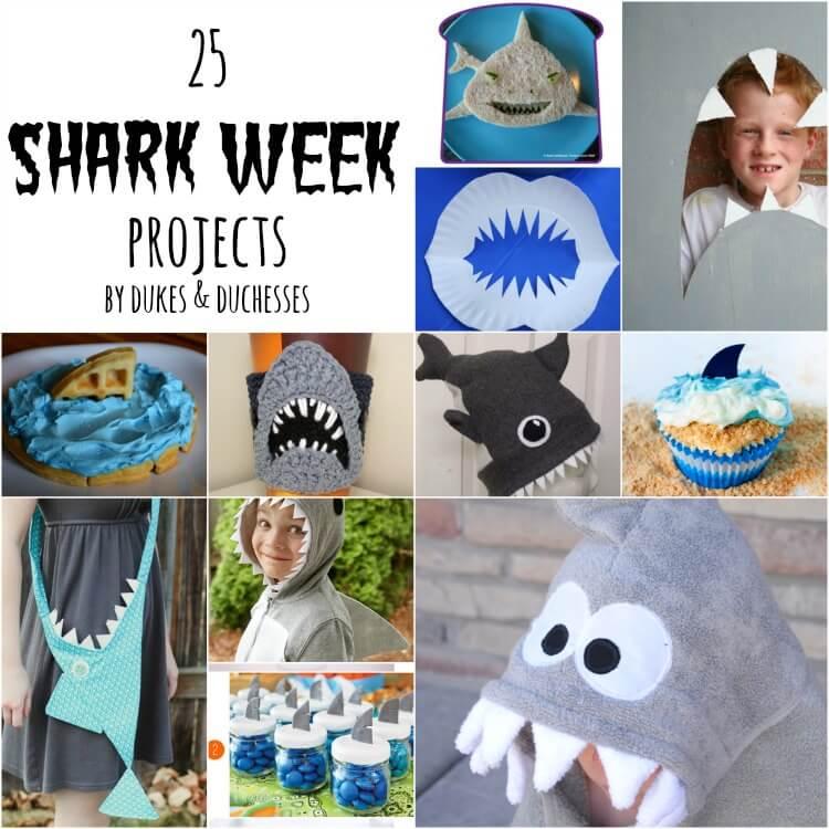 25 shark week projects
