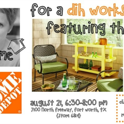 DIH Workshop with The Home Depot