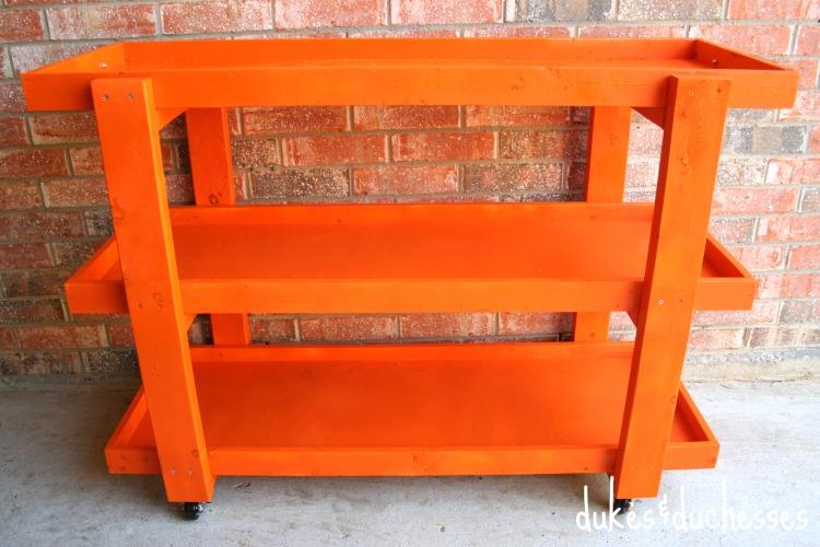 DIY storage cart