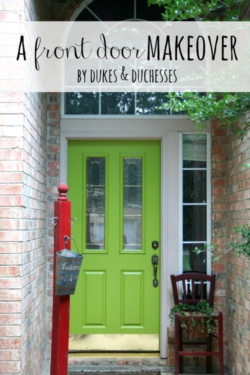 a front door makeover