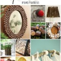 crafts for the home using natural elements
