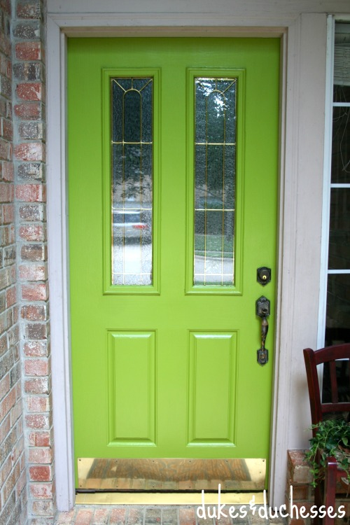 A Front Door Makeover Dukes And Duchesses