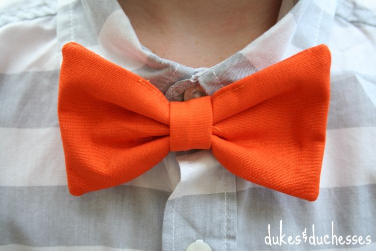 hair clip bow tie