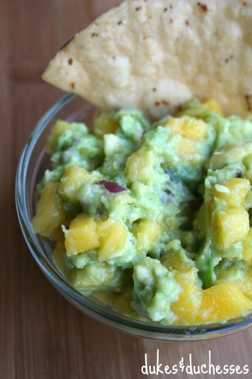 mango hatch chile guacamole