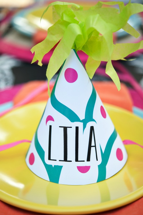 personalized party hats