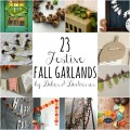 23 festive fall garlands