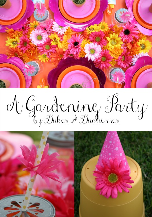 a gardening party