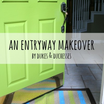 An Entryway Makeover