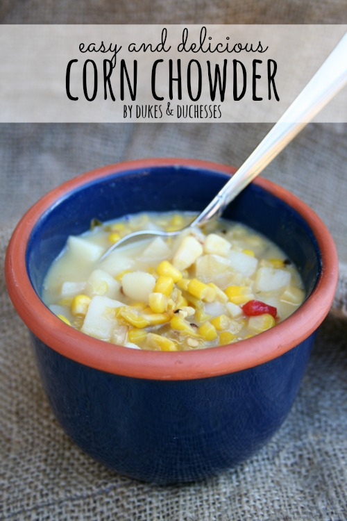 easy and delicious corn chowder