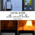 lighting the home with smart bulbs