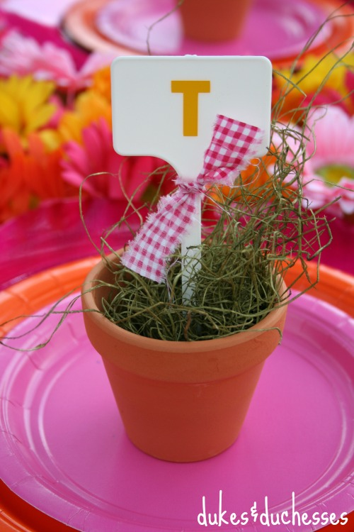 plant marker placecard
