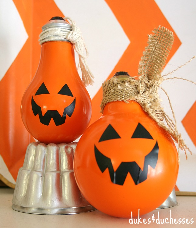 pumpkin lightbulbs