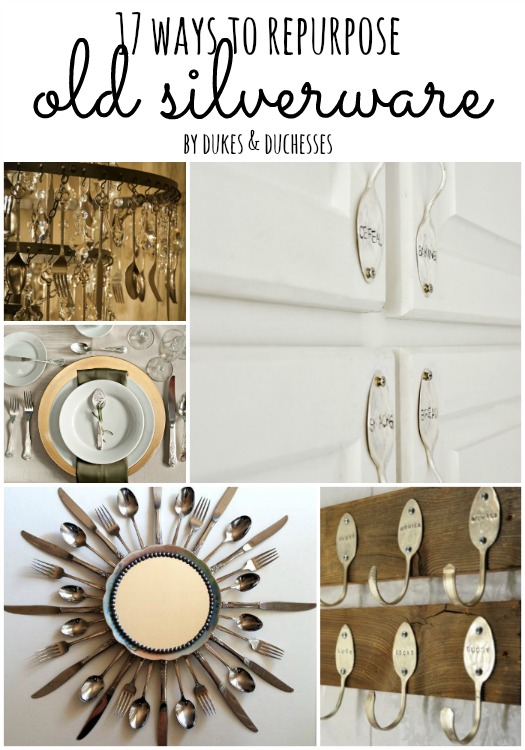 17 Ways To Repurpose Old Silverware Dukes And Duchesses