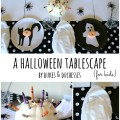 a halloween tablescape for kids