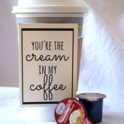 A Coffee Gift {with Printable}
